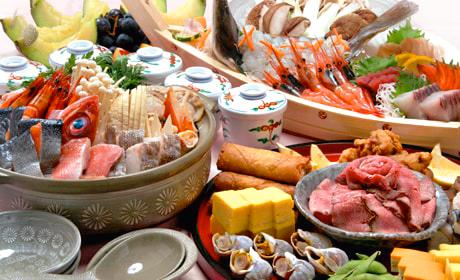 写真:宴会料理一例